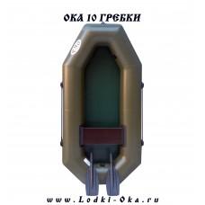 Лодка Ока 10 Гребки