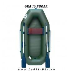 Лодка Ока 10 Вёсла